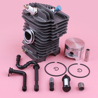 49mm Cylinder Piston Kit For Stihl MS390 MS290 039 029 Fuel Oil Filter Line Decompression Valve Chainsaw Replace Spare Part