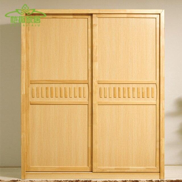 Rural Nordic residencial muebles armario de madera armario armario ...