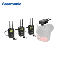 Saramonic Wireless WMIC LINK5 Microphone 3 Transmitters 1 Receivers for Nikon Canon DSLR Camera