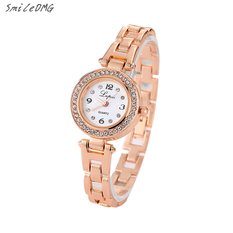 Women Watch Stainless Steel  Rhinestone Quartz Wrist Watch relogio feminino High Quatity Hot Sale Wholesale Free Shipping,Jan 11 smileomg hot sale fashion women crystal stainless steel analog quartz wrist watch bracelet free shipping christmas gift sep 5