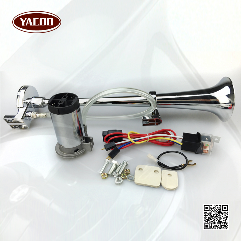 150DB Super Loud 12V/24V Single Trumpet Air Horn Compressor Car Lorry Boat Motorcycle FGHGF