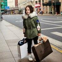 2017 Winter Baby Girls Down Jacket Trendy Sassy Design Super Cute Korean Design Greatcoat For Teens