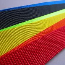 Sturdy nylon ribbon, outdoor backpack strap, Safety belt, seat belt, nylon fabric tape,Safety Harness.