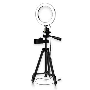 Image 2 - LED Studio Camera Ring Light 16/20/26cm Dimmable Video Light Annular Lamp with Tripod for Smartphone iPhone Selfie Live Show