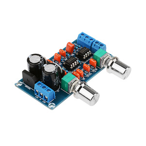 Image 2 - AIYIMA Amplifier Preamp Low Pass Filter Board Hifi Subwoofer Preamplifier Low Pass Filter Board With Bass Volume Adjustment