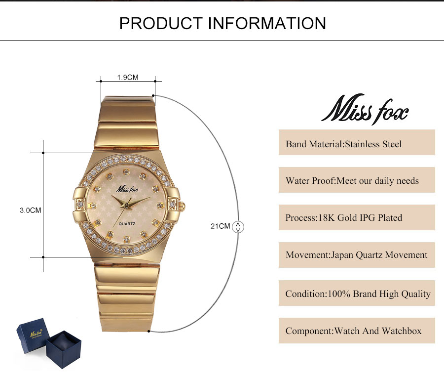 Miss Fox Women Watches -02
