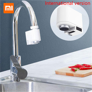Image 1 - Xiaomi Zajia Induction Water Saving Device adjustable Overflow Smart Faucet Sensor Infrared Water Energy Saving Device Kitchen