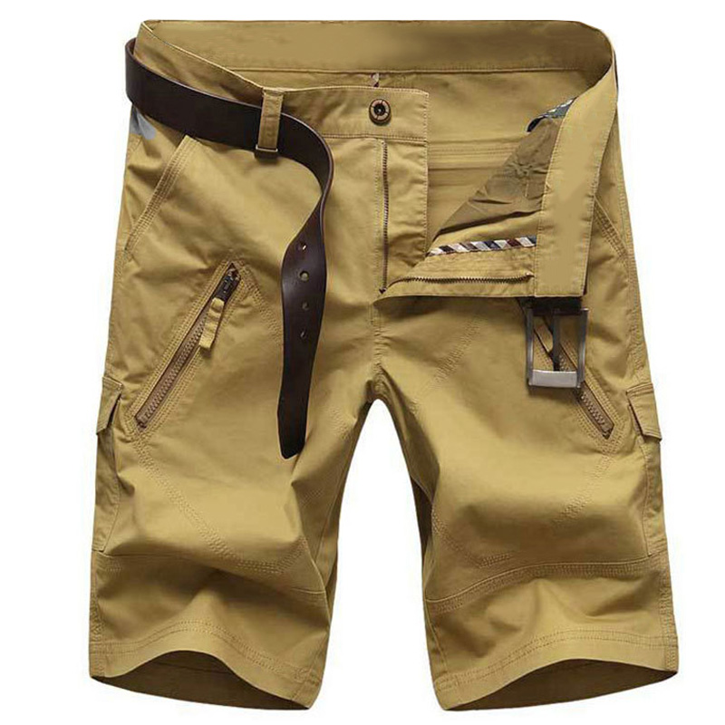 2018 New Arrivals Fashion Men Cargo Shorts Straight Loose Fashion Mans Short Trousers Bottoms Multi-pocket short Pants