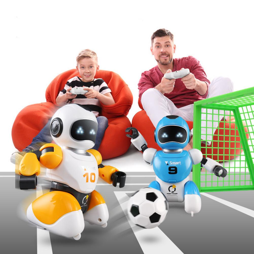 Smart USB RC Robot Fighting Football Soccer Singing Dancing Educational Toy RC Intelligent Football Robots Toys