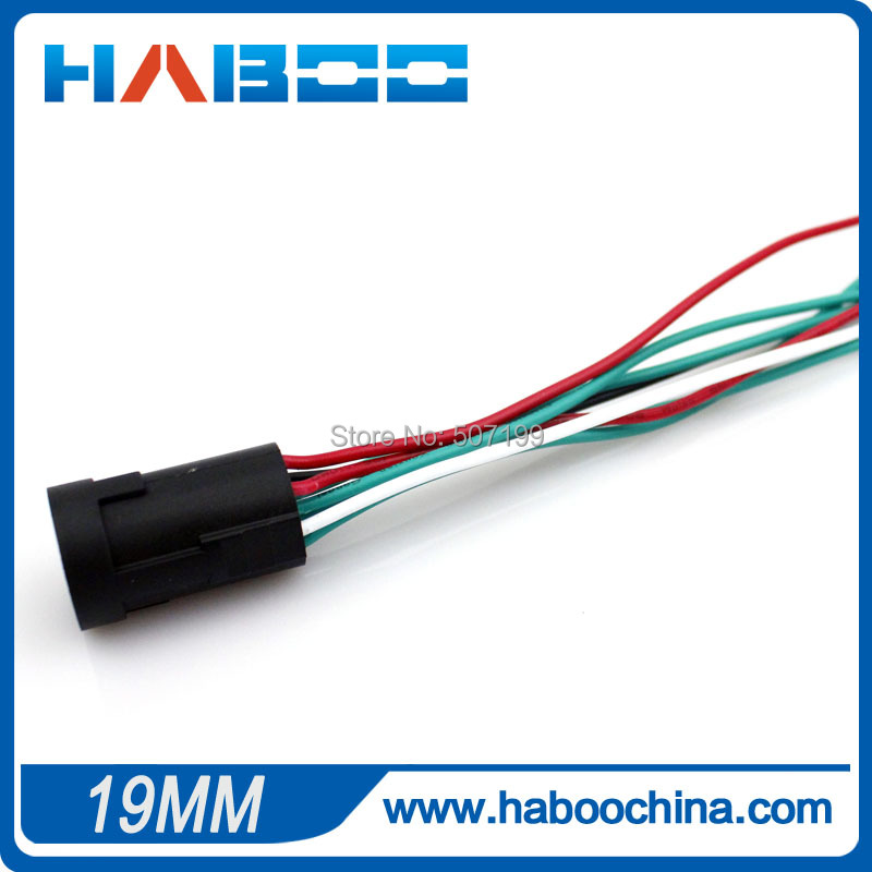 small packing 10pcs/lot diameter 19mm socket for HABOO dia.19mm metal switch,this link i ...