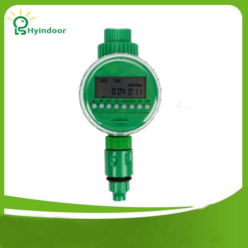 LCD displej Inteligentní zahradní kapaliny Zavlažovací vody Časovače 16 Nastavit Waterin Programy Elektronický elektromagnetický regulátor ventilu