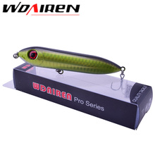WDAIREN Popper Lure 9.5cm 12g Top Water Bait Isca Pesca Artificial Leurre De Peche Nonep France VMC Hook Hard Lures WD-070