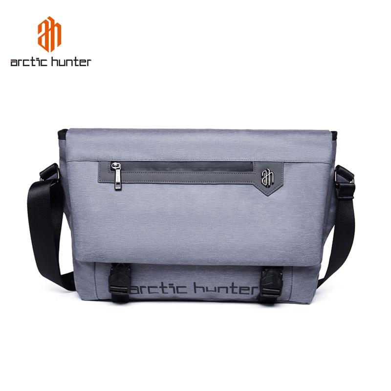 ARCTIC HUNTER Fashion Large Crossbody Bags For Men Waterproof Business Casual Messenger Bag Travel Men Shoulder Bag Beach Bolsa