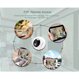 Image 4 - HD 1080 P Câmera de Vigilância IP Sem Fio Da Câmera Night Vision Two way Voz 2.4 Ghz Wifi Indoor Casa Inteligente monitor Do Bebê de segurança