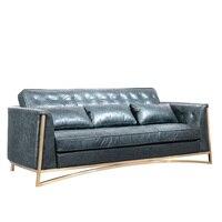Новый Фошань из натуральной кожи диване Гуандун мебель для гостиной диван Роскошные