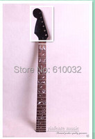 One Left Black High Quality Unfinished Electric Guitar Neck 007