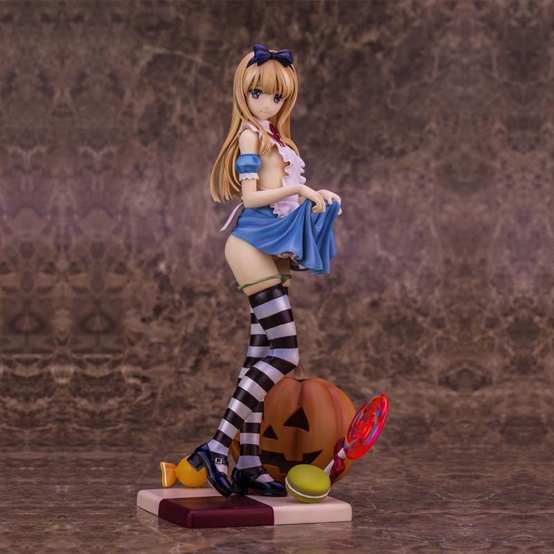 25cm Anime Sexy Girl Illustration BY Misaki Kurchito Alice 1/6 Scale Action Figure Model Gifts no retail box (Chinese Version) 1