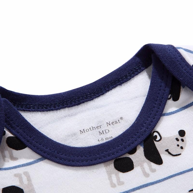 Mother Nest 3 PcsLot Baby Romper Infant Romper Long Sleeve Jumpsuit Romper 12 Colors Brand Baby Girl Boy Clothing Christmas (2)