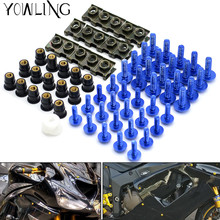 Motorcycle accessories custom fairing screw bolt windscreen FOR YAMAHA YZF R1 R3 R6 R10 R25 MT-09 FZ09 MT-07 FZ07 FZ1