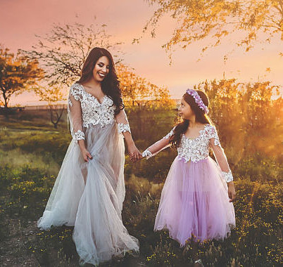 New Girls Lavender Dresses Flower Girl Dress for Wedding White Lace Puffy Tulle Girls Pageant Gown Custom Made cnd цвет lavender lace