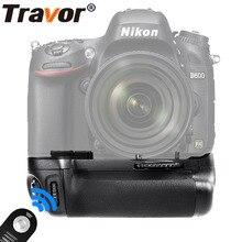 TRAVOR Вертикальная батарея для Nikon D600 D610 DSLR камеры как MB-D14 + универсальный пульт дистанционного управления как подарок