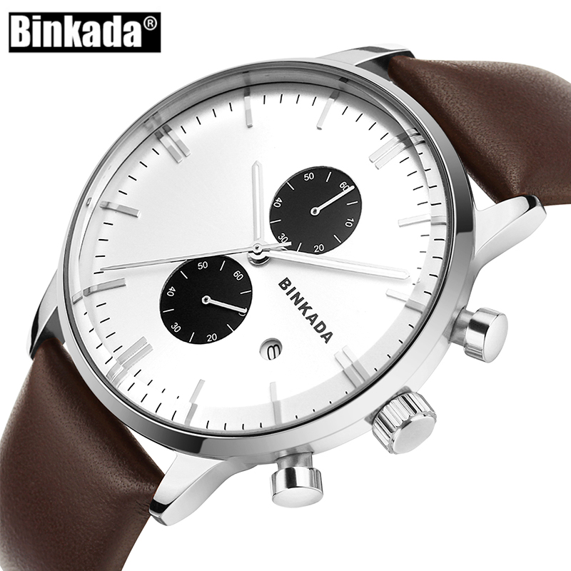 Men Sport Stainless Steel Waterproof Wristwatch Luxury Chronograph Mens Watches Top Brand Fashion Business Quartz Watch Clock mens watches top brand luxury wishdoit chronograph luminous quartz watch men business men stainless steel waterproof wristwatch