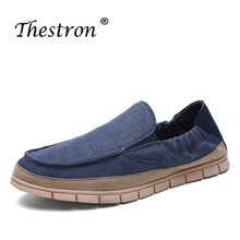 Classic Canvas Shoes Summer Plimsolls Breathable Fashion Sneakers Blue  Men Platform Original Walking