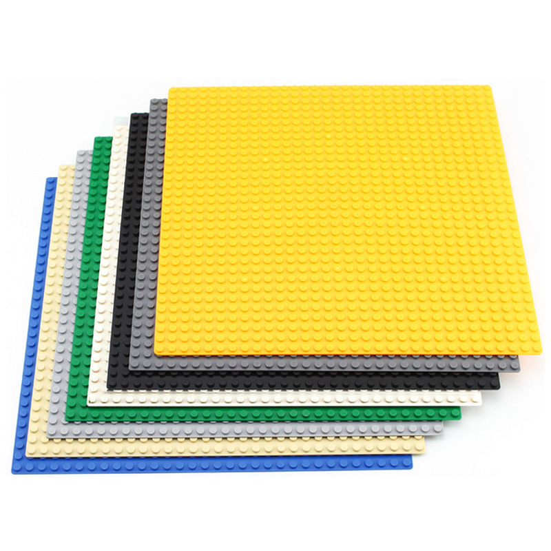 <font><b>32*32</b></font> Dots City Base Plate for Small Bricks <font><b>Baseplate</b></font> Board DIY Building Blocks Parts LegoINGLs Educational Toys For Children image