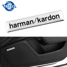 1 pcs Harman/kardon car audio decorare sticker per Toyota/skoda/Opel/AUdi/Suzuki/ fiat/BMW/mazda/fiat auto Accessori Per Auto Car styling(China)