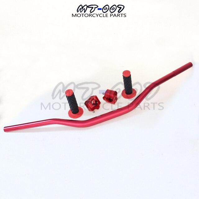 Pro Taper Handlebars >> Red Pro Taper Handlebar Bar Riser 28mm Fat Handle Bar Pad Handlebar