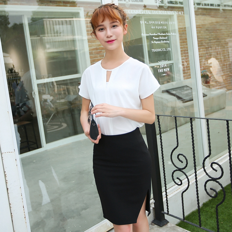 Aliexpress.com : Buy Women High Waist Midi Pencil Skirt with Slit ...