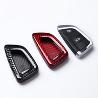 Carbon Fiber Car Remote Key Case Cover For BMW E46 E39 E90 E36 E60 F30 F10 E34 E30 F20 Car Accessories sticker