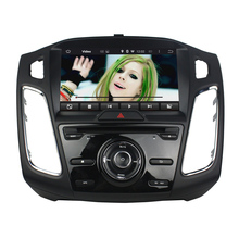 9 Inch 1 Din Quad Core HD1024*600 Android 5.1 Car DVD Player For Ford For FOCUS 2015-2016 Car Multimedia Player 8GB MAP Card