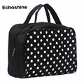 Portable Entrancing Multifunction Travel Cosmetic Bag Makeup Toiletry Case Pouch Multi Functional Cosmetic Storage Dots Bags