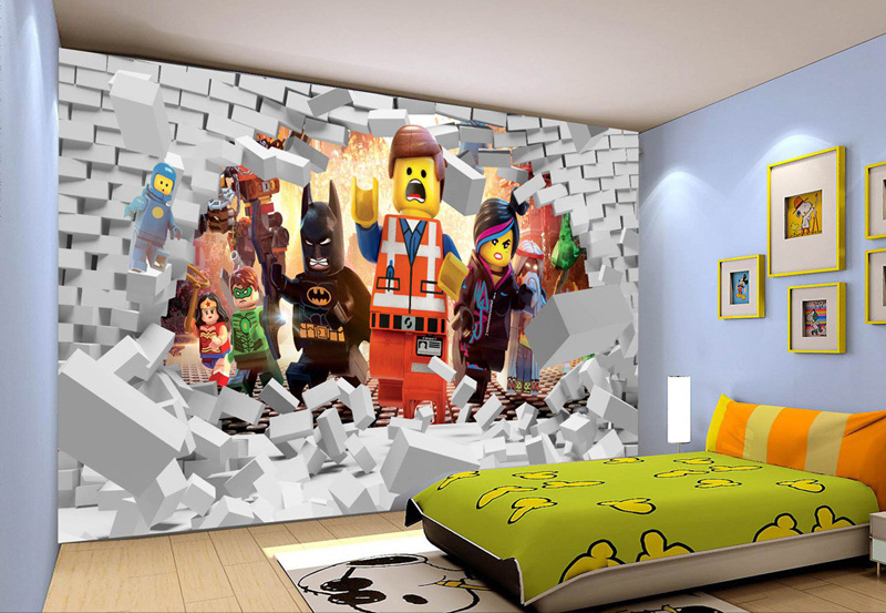 Lego Brick Wallpaper Bedroom Walls | www.pixshark.com