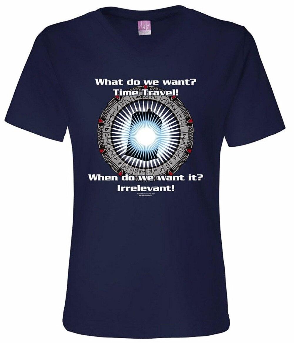 Забавные Рубашки для мальчиков экипажа Средства ухода за кожей шеи с коротким рукавом внеземное конструкции Для женщин путешествие во врем...