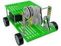 New três correia de transmissão de velocidade da engrenagem do motor do carro elétrico diy brinquedo montado snp-9