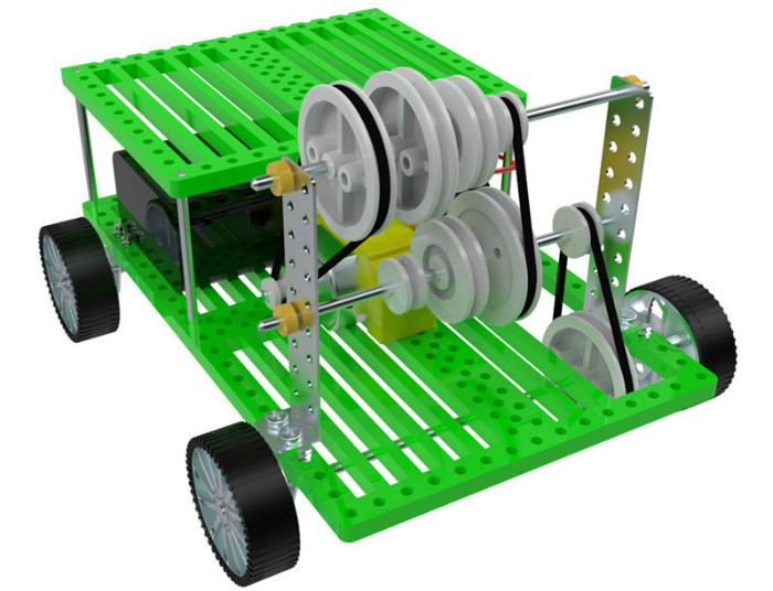 Nuevo cinturón de tres velocidades de engranajes de transmisión de coche motor e