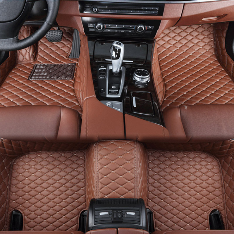 Voiture tapis de sol pour Mercedes Benz Un B C CLA GLA D E ML SL SLK R S600 série Vito viano Sprinter Maybach CLA CLK Personnalisé auto pied