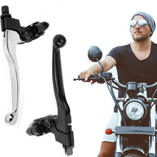 VODOOL Motorcycle Accessories Aluminum Brakes Parts Left 22mm 7/8 Inch Handlebar Clutch Lever for Pit Dirt Bike Motorcycle ATV цены