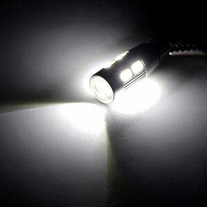 Image 5 - 2x T10 W5W araba LED sinyal ampul Canbus otomatik iç ışık plaka okuma dönüş kama yan park ters fren lambası 10SMD