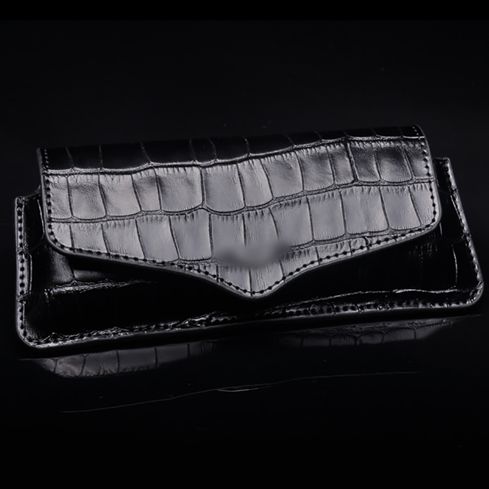 2016 Luxury Crocodile Skin Pattern Mobile Phone Leather Flip Pouch For Vertu Signature S CEO 168 K7 Full Protect Bag Case YBSV2 kevin new design women watches fashion black round dial stainless steel band quartz wrist watch mens gifts relogios feminino