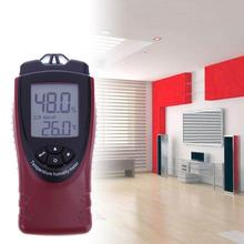 Wholesale prices Digital Temperature Humidity Meter LCD Display Industrial Indoor Outdoor Thermometer Handheld Hydrothermograph