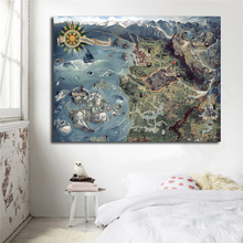The Witcher Karte.Grosshandel The Witcher Map Gallery Billig Kaufen The