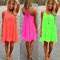 Summer dress 2017 шифон женщин dress лето стиль vestido де феста сарафан плюс размер женская одежда халат пляж dress