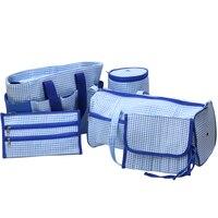 5 Pcs Set High Quality Sewing Needle Storage Bag Yarn Case Crochet Hook Bags Weaving Tools