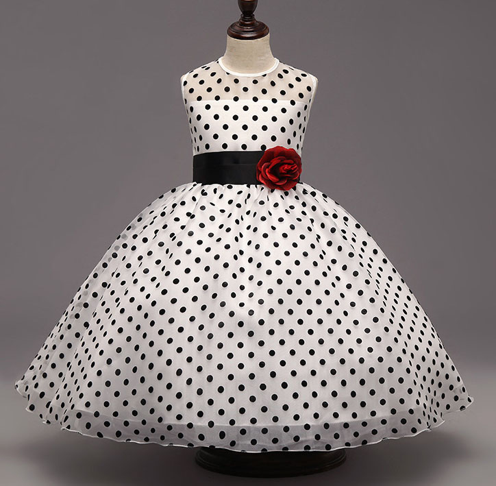 Girls Black Polka Dot Organza Princess Dress Baby Girl Events Wedding Party Ball Gowns for Girl Frocks 2 3 4 5 6 7 8 10 12 Years 480p 2017 digital hd cmos 2 0 camera video audio mini camera small camcorde dv dvr recorder web cam