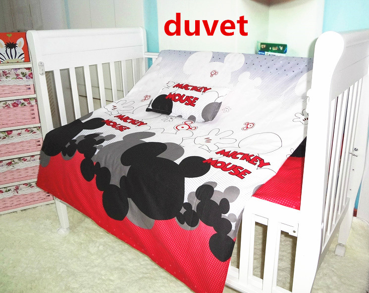 baby bedding set, this is duvet,include duvet cover and duvet filling flower print duvet cover set