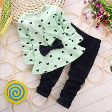 2 piece baby set – Green