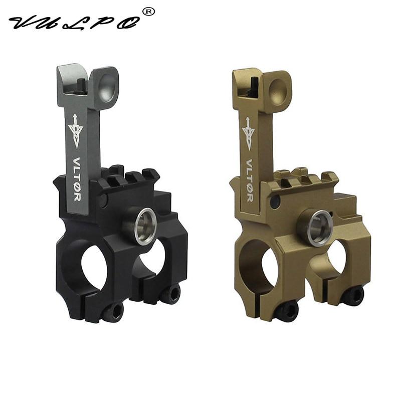 VULPO Vltor Front Folding Sight Tower QD Quick Release Sling Ring Base